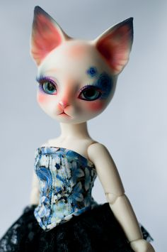 #BJD #doll #Pipos #Yo-SD #corset #lace #craft #handmade #LenivkaShop #PblCb
