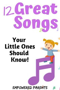 12 Great Songs You Should Teach Your Preschool Child