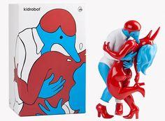 Best urban vinyl I've seen in years! Kidrobot x Parra Pierced Figure