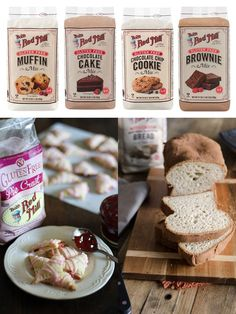 Bob's Red Mill Gluten Free Baking Mixes (Dairy-Free Review ) - several varieties!