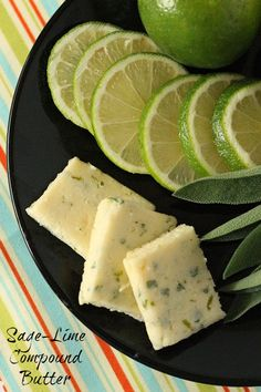 sage-lime compound butter