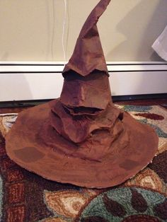 How to Make a Harry Potter Sorting Hat                                                                                                                                                      More