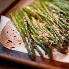 Roasted Asparagus with Parmesan Allrecipes.com