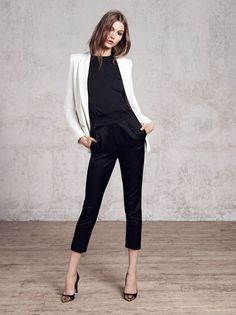 Karlie Kloss for Mango Winter 2012 >> I don't really like Karlie Kloss all that much, but I'm really digging this outfit