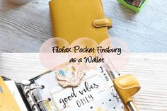A review of the Pocket Finsbury in Yellow, along with a walk through of my set up where I'm using this as an extra wallet for expense tracking and coupons.