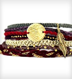 Bohemian Wanderer Friendship Bracelets | Jewelry Bracelets | Nautical Wheeler Jewelry | Scoutmob Shoppe | Product Detail