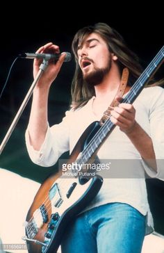 Boz Burrell. I saw him with King Crimson. He was incredible and beautiful. That show changed my life and made my standards impossibly high !!