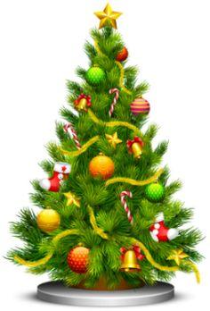 A árvore de Natal é um dos principais símbolos do Natal. Ela tem o significado de gratidão da humanidade pelo nascimento de Jesus e também de esperança, paz, vida e alegria.    A árvore de Natal tem origem europeia e é tradicionalmente o pinheiro. Isso porque essa é a única árvore que consegue sobreviver ao frio intenso do inverno europeu.  Alguns estudiosos acreditam que a árvore de Natal começou a ser usada por volta do século XVII, numa província francesa. Já outros, dizem que a árvore de ... Cartoon Christmas Tree, Christmas Tree With Presents, Christmas Tree Clipart, Christmas Tree Pictures, Last Minute Christmas Gifts, Little Christmas Trees, Christmas Drawing, Christmas Night, Noel Christmas