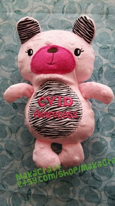 Check out this item in my Etsy shop https://www.etsy.com/listing/224208013/cvid-awareness-stuffed-bear-can-be