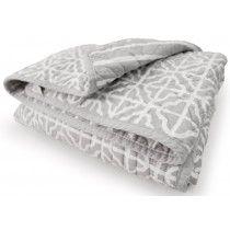 Kidsline Mix & Match Cot Comforter - Grey / White