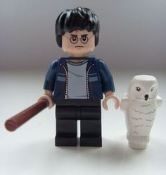 Harry Potter LEGO Blue Jacket Minifigure