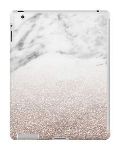 Our Rose Gold Glitter & Marble iPad Case is available online now for just £9.99.    Check out our super cute Rose Gold Glitter & Marble iPad case, available for iPad, iPad Mini & iPad Air    Material: Plastic, Production Method: Printed, Weight: 28g, Thickness: 12mm, Colour Sides: Clear, Compatible With: iPad 2   iPad 3   iPad 4   iPad Air   iPad Mini   iPad Mini 2, Features: Slim fitting one-piece clip-on case that allows full access to all device ports. This iPad case is extremely dura