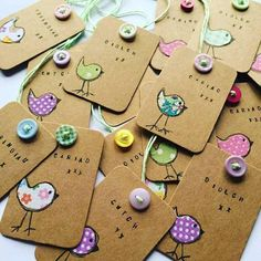 Check out this item in my Etsy shop https://www.etsy.com/uk/listing/385379980/bespoke-handmade-kraft-gift-tags-labels