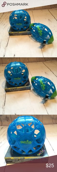 Magic squish light up soccer ball and football Light up squish soccer ball and football!!! New with tags  Batteries still work items still light up magic squish Other