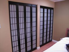 DIY Shoji Screen Closet Doors