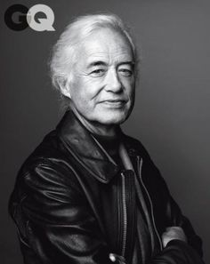 Jimmy Page photographed by Marco Grob for December 2014 issue of GQ magazine.