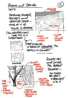 Rhythm & Spacing, by Louie Del Carmen THE ART CENTER / Sharing Ideas And Tips From Artist To Artist