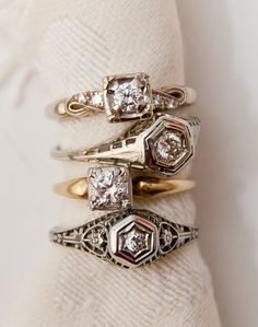 Adoro los anillos antiguos
