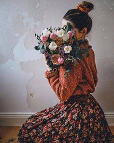 21 Stunning Dressing Examples on 4 Different Occasion - Fashion is an attitude. Girl Photo Shoots, Girl Photo Poses, Girl Photography Poses, Creative Photography, Girl Photos, Fashion Photography, Flower Aesthetic, Aesthetic Photo, Aesthetic Pictures