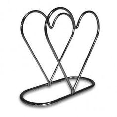 Porta Guardanapo de Papel Coração
