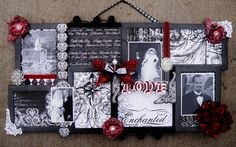 Enchanted Love - Scraps of Darkness - Scrapbook.com  Great gift idea
