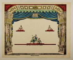Proscenium. No. 143. uncut paper theater sheet - Robrahn & Co c1870-1880 at http://skd-online-collection.skd.museum/en/contents/show?id=349361#
