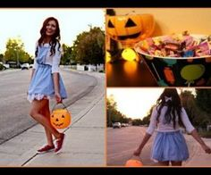 HOW TO | TEEN DIARIES: Dorothy Wizard of Oz Costume; I am so doing this!!