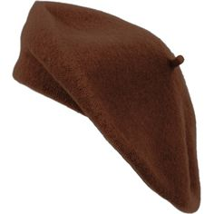 Amazon.com  Solid Color French Wool Beret (Dark Brown)  Clothing ( 477c24c1e8e4
