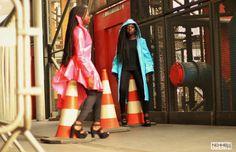 #DVORA #photoshoot #lookbook #fashiondesign #fashionforward #architechturalclothinging #blackfashion #twins #baidsgang #paris #raincoat #rainwear #womanswear
