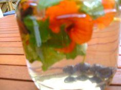 Blütenessig aus Kapuzinerkresse