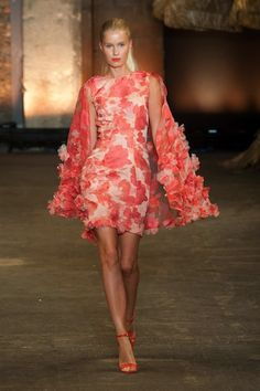 Christian Siriano Spring 2014: A Journey to the Island of Women