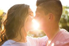 Sunset Photography, Golden Hour, Engagement Session, Love Story, Kiss, Dating, Couple Photos, Couples, Inspiration
