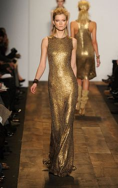 Michael Kors...would love to buy this dress and look like this in it lol