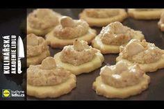Myslivecké knoflíčky - Roman Paulus - Kulinářská Akademie Lidlu Lidl, Roman, Favorite Recipes, Cookies, Youtube, Food, Advent, Crack Crackers, Eten