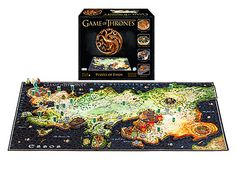 Game of Thrones 3D Map of Essos Puzzle ~ $70 ~ Geeky Christmas Gifts! Game Of Thrones King, Game Of Thrones Gifts, Model Building, Building Toys, Game Of Thrones Merchandise, Map Puzzle, King's Landing, Sansa Stark, Mother Of Dragons