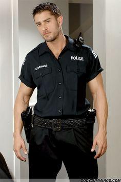 Clip cop gratuit gay hunky