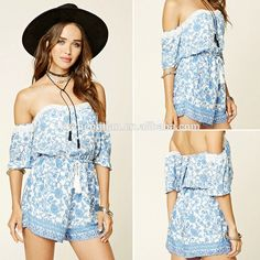 floral romper womens Summer playsuits jumpsuit 2017 summer cute feminino vestidos female overalls Clothing
