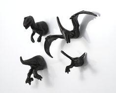 Extinct Dinosaur Magnet Set  4 piece set   by OriginalAnimalMagnet, $13.00