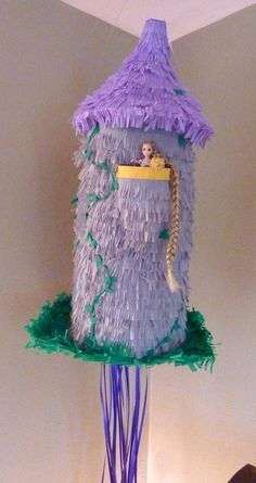 Pinata Rapunzel Tangled Tower