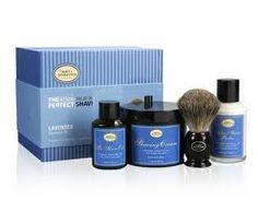 The Art of Shaving -Lavender Kit- men love this stuff. Plus it smells phenomenal.