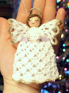 Ravelry: Clothespin Angel pattern by Cylinda Mathews