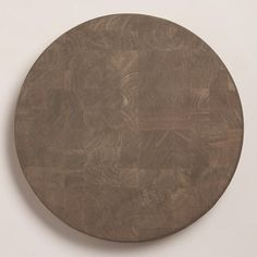 One of my favorite discoveries at WorldMarket.com: Gray Wood Cutting Board