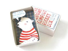 Instant Comfort Pocket Box polarbear