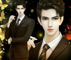 堆糖-美好生活研究所 This looks a bit like Artemis Fowl. Boy Illustration, Illustrations, Handsome Anime Guys, Handsome Boys, Digital Art Anime, Anime Art, Pretty Boys, Pretty Men, Chinese Boy