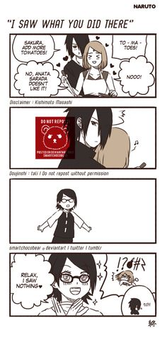 Naruto Doujinshi - I Saw What You Did There by SmartChocoBear on DeviantArt