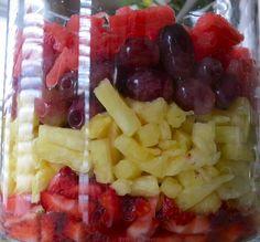 46 New Ideas For Fruit Salsa Greek Yogurt Fruit Salsa, Fruit Kabobs, Fruit Drinks, Fruit Snacks, Heart Healthy Snacks, Healthy Recipes, Healthy Foods, New Fruit, Fresh Fruit