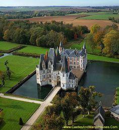 Le château d'Ô, Mortrée, Orne, Normandie, France.