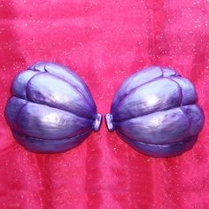 Little Mermaid Ariel Costume Seashell Bra Cups by littlepennylane,