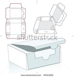 Vector food box template Free vector for free download about (3 ...