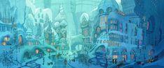 The Art of Zootopia: 70 Original Environment Concept Art - Animation